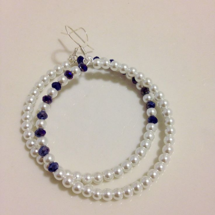 Amie White pearls and crystals comes in 4 colors