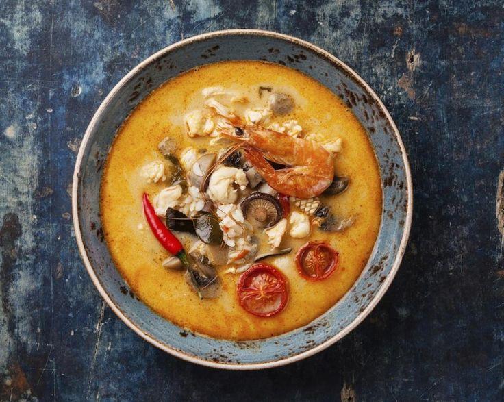Supa picanta thai cu creveti si lapte de cocos » Andreea Raicu