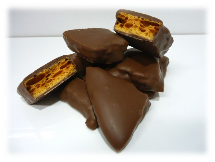 Another amazing chocolate sensation from The Food Purveyor and Sweet Things by Caroline hand-made honeycomb, hand-dipped in finest quality Belgian milk or dark couverture chocolate.