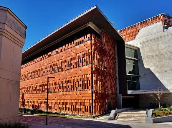 Advanced Engineering Building, The University of Queensland, Brisbane, Australia.  Wilfred Brimblecombe, June 2013.
