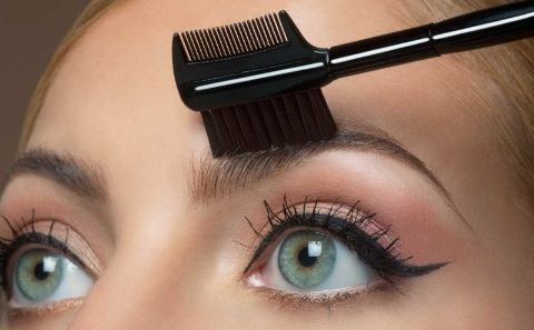 11. Lash/Brow Comb/Brush: Use this duo to comb, tame, and de-clump your lashes and brows.  Alternate use: Smudge eyeliner gently with the brush bristles.
