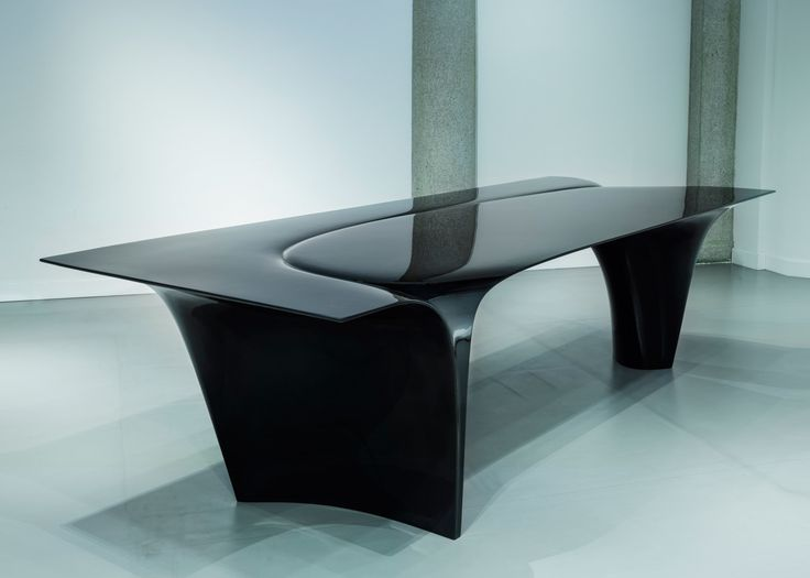 Zaha Hadid's Mew table is her last piece of furniture design for Sawaya & Moroni
