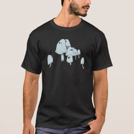 Ghost Mushrooms T-Shirt - tap, personalize, buy right now!