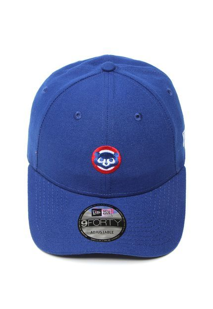 Boné New Era Chicago Cubs Azul  6c16da12b3e