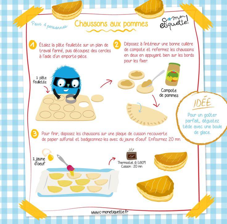 Savourez de délicieux mini chaussons aux pommes ce week-end !