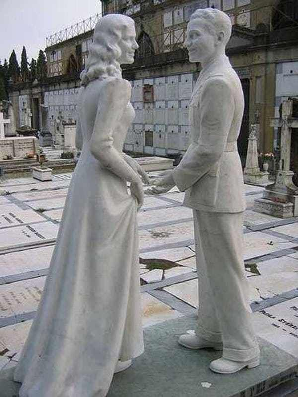 When commemorating the deceased, a lot of tough decisions have to be made. Do you want a life size sculpture of your loved one's likeness, or a cleverly hidden jab to get them back for, well, they know what they did? Plenty of family members have made some strange gravestone choices, and there are ...