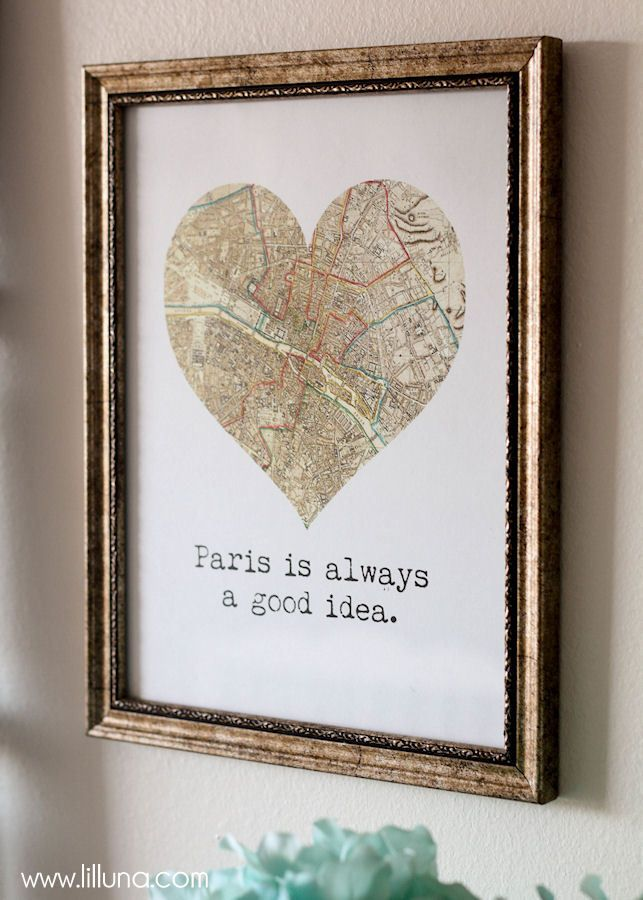 Paris decor ideas for your home { lilluna.com }