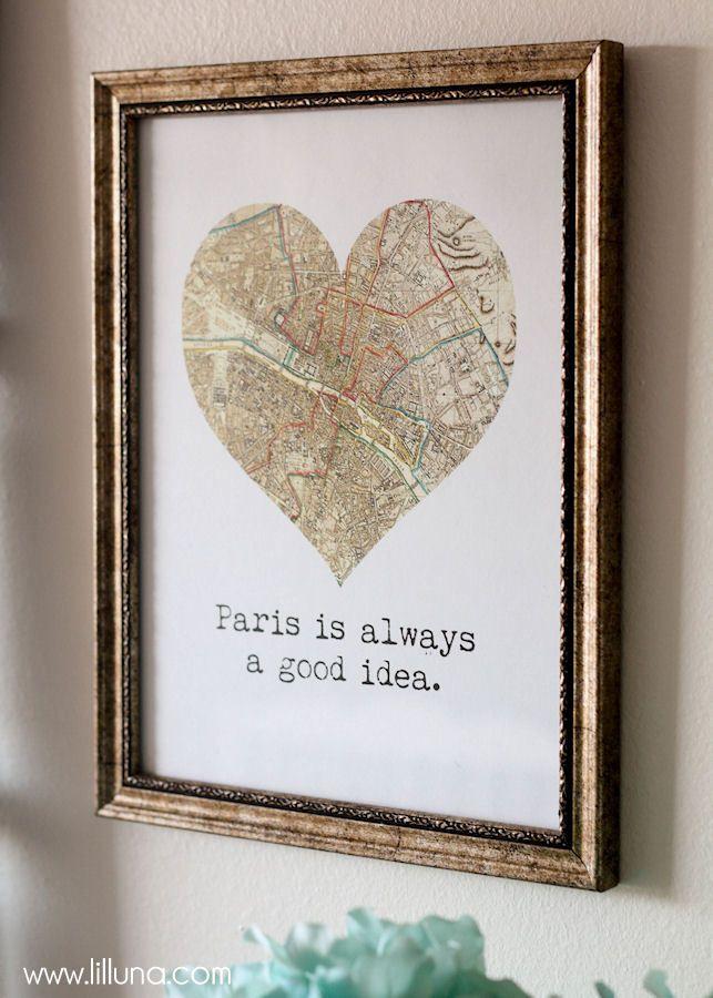 Paris decor ideas for your home { lilluna.com }