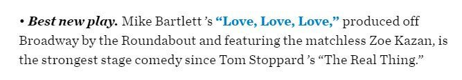 """Congrats to @RTC_NYC! #LLLPlay named """"Best New Play"""" 2016 via @WSJ wsj.com/articles/the-b… 13-12-2016"""