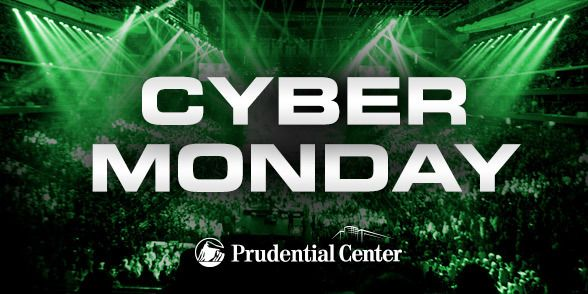 ROCK E-Mail - Cyber Monday at Prudential Center