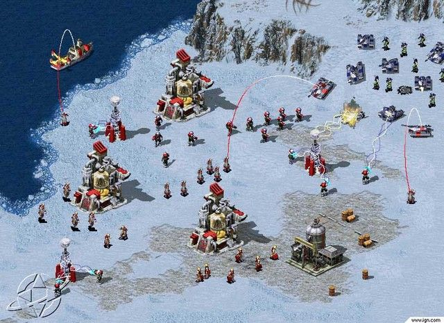 Command & Conquer Red Alert 2 PC Game Sreenshots