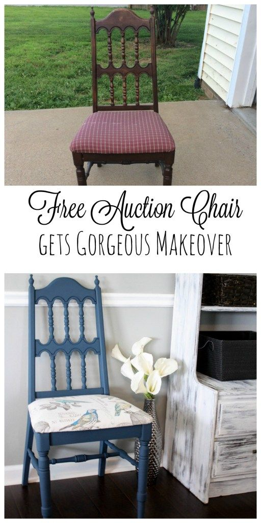 Free Auction Chair gets Revived