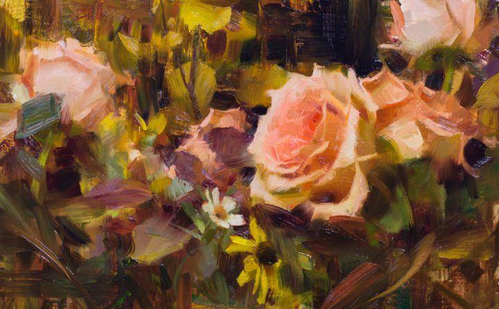 Roses & Autumn Leaves  by Daniel Keys