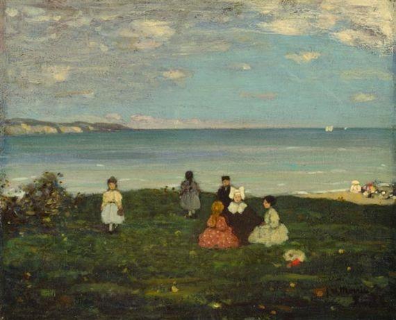James Wilson Morrice, On the Cliff
