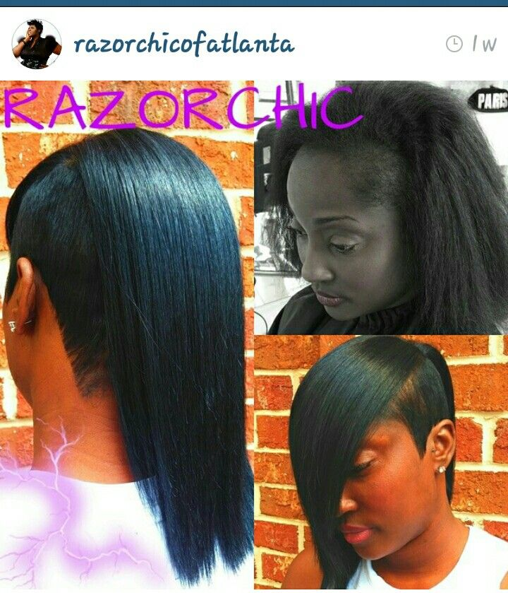 20 best short quick weave images on pinterest braids bb and razorchic pmusecretfo Gallery