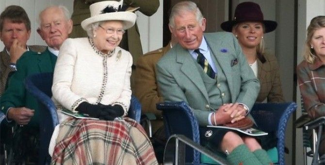 Queen Elizabeth Asking Residents of Scotland Heart Heart Determining the Independence Referendum Options
