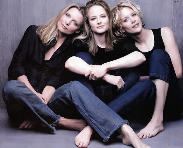 Michelle Pfeiffer, Jodie Foster & Meg Ryan