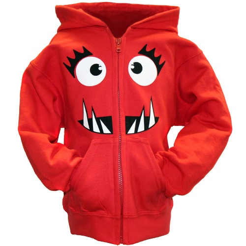 Monster Hoodie keeps your little monster warm! $40 | Personalized Hoodie