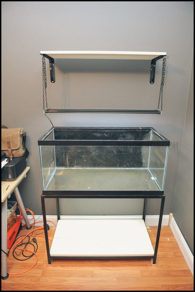 Diy hanging aquarium lights