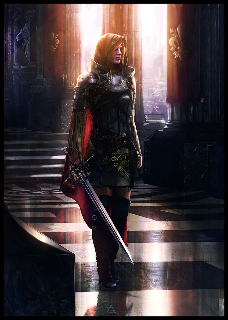 I've always had an interest and liking for warrior women. Probably cause if I lived in a fairytale, I'd be one!