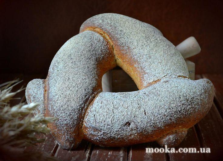 "Хлеб ""Круги на полях"" (Crop circle  bread)"