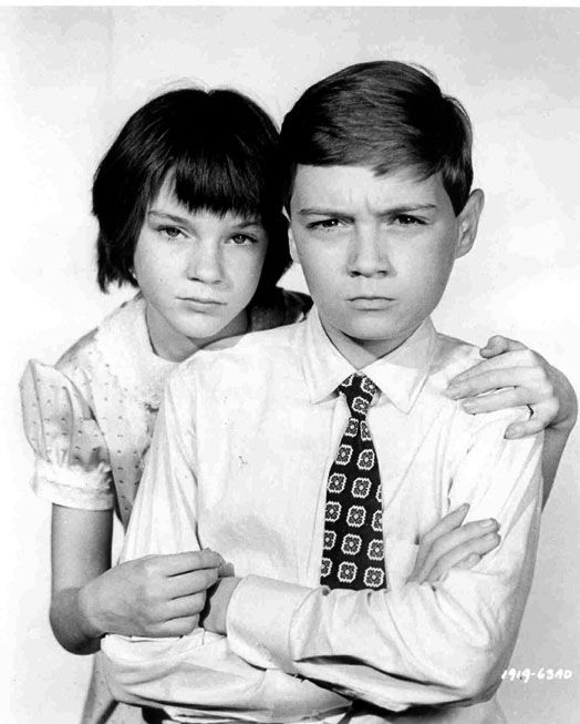 Scout & Jem from To Kill A Mocking Bird. I actually liked this book. Alot!