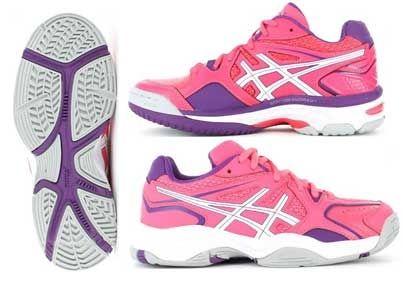 ASICS NETBURNER 17 GS JUNIOR SHOE - BRITTAIN WYNYARD FEBRUARY 2015 : Footwear-Netball : The Sport Shop