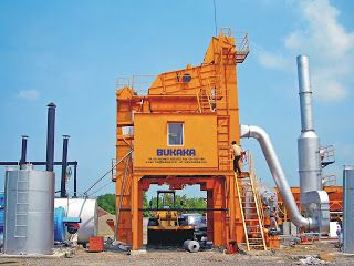Asphalt Mixing Plant (BAMP 800B-FA)  | BUKAKA - Road Construction Equipment | www.rce-bukaka.com