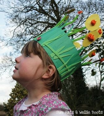 Thank you, little kid, for inspiring my Easter bonnet, lol