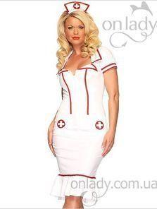 Купить игровой маскарадный костюм медсестры
