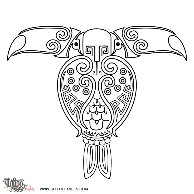 double headed maya toucan tattoo toucan pinterest design tattoo designs and tattoos and. Black Bedroom Furniture Sets. Home Design Ideas