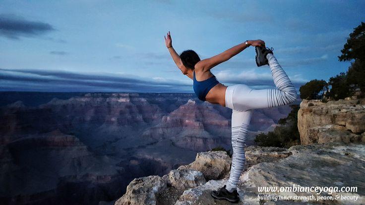 Forget balance. Aim for harmony. Grand Canyon, Nevada | yoga | yoga retreat | OMbiance Yoga | getaway | travel | healthy travel
