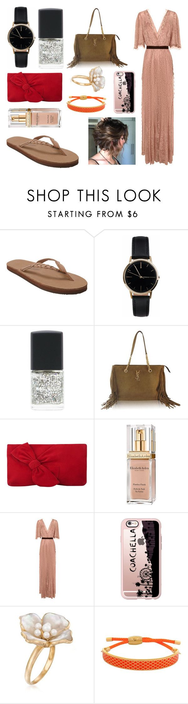 """OOTD"" by hailey-smith-13 ❤ liked on Polyvore featuring Rainbow Sandals, Freedom To Exist, Lane Bryant, Yves Saint Laurent, L.K.Bennett, Elizabeth Arden, Alice McCall, Casetify, Ross-Simons and Halcyon Days"