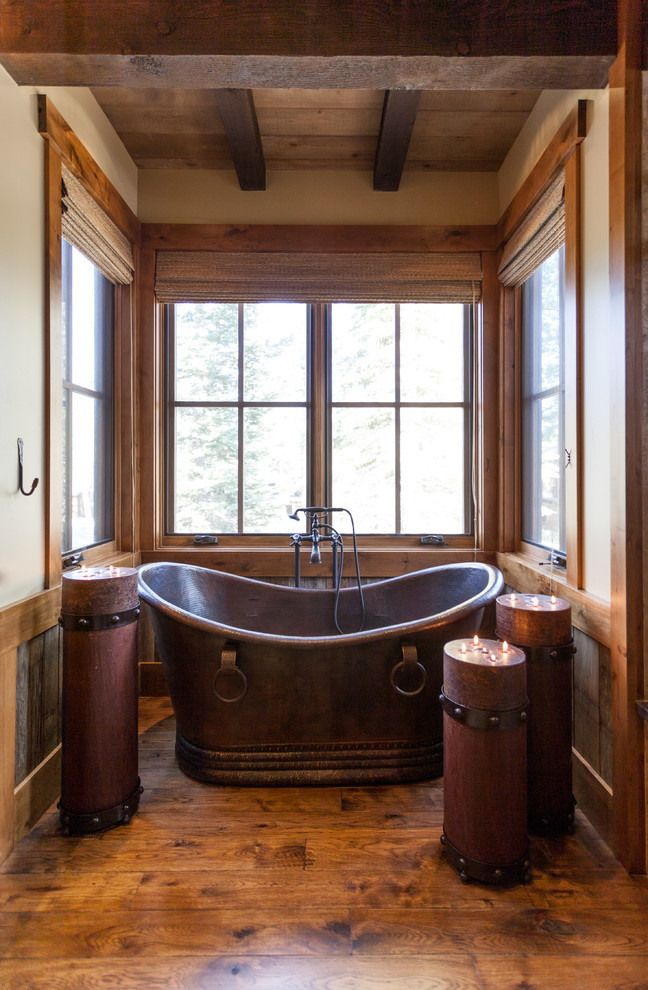 Dream Rustic Bathrooms Mountain Cabin Bathroom Ideas Austin Cabin