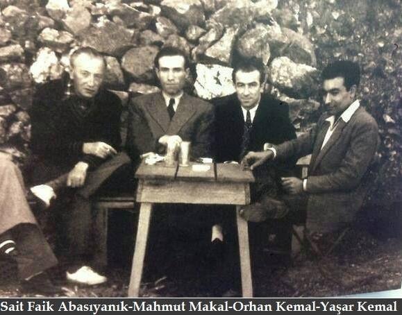 Sait Faik Abasıyanık-Mahmut Makal-Orhan Kemal-Yaşar Kemal…