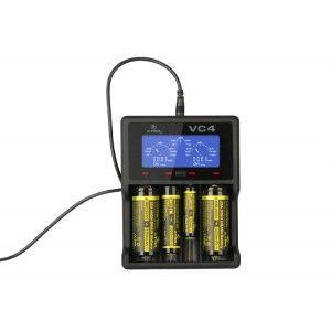 Xtar VC4 négycsatornás Li-Ion akkumulátor töltő