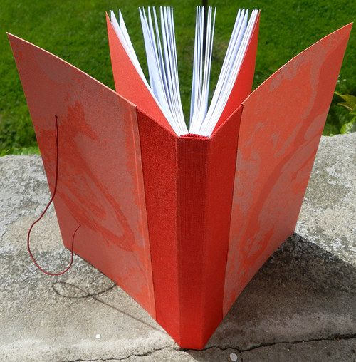 Handmade notebook Material: paper, canvas