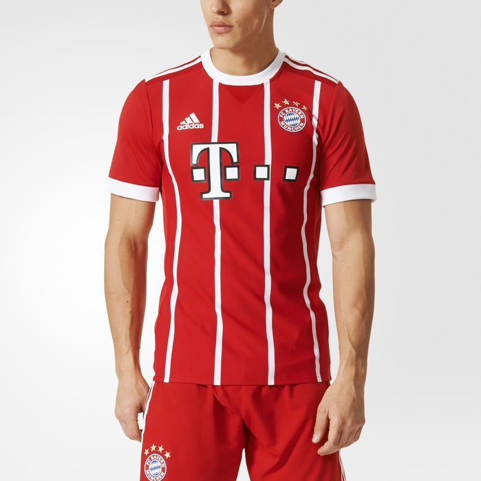 adidas FC Bayern Munich Authentic Jersey - Mens Soccer Jerseys