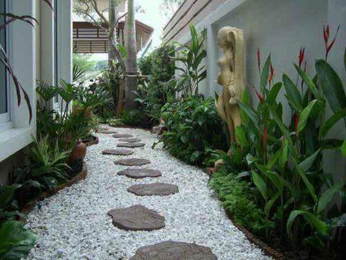 die besten 17 ideen zu gartengestaltung mit kies auf pinterest kiesgarten kies landschaftsbau. Black Bedroom Furniture Sets. Home Design Ideas