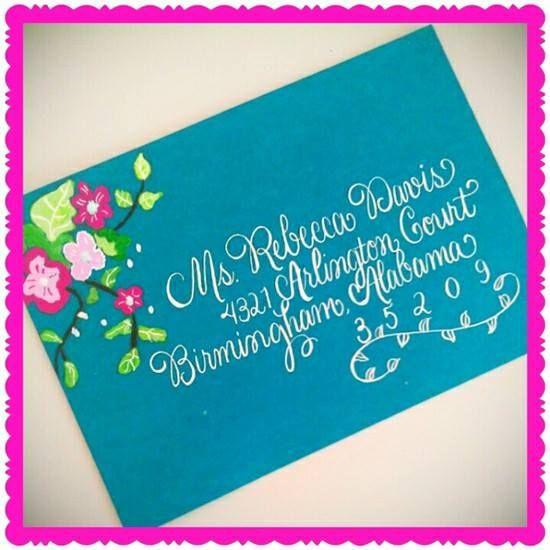 52 Best Envelope Artwork By Calligraphy By Jennifer Images