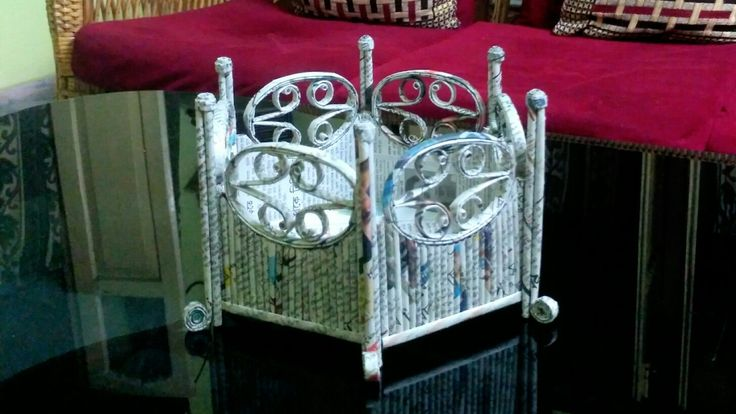 How To Make A Newspaper Basket With Top : Best  images on