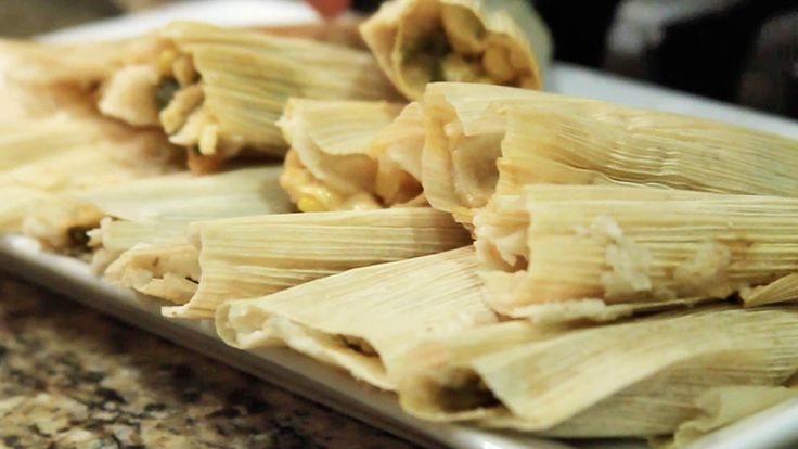 Receta de Tamales para la Candelaria