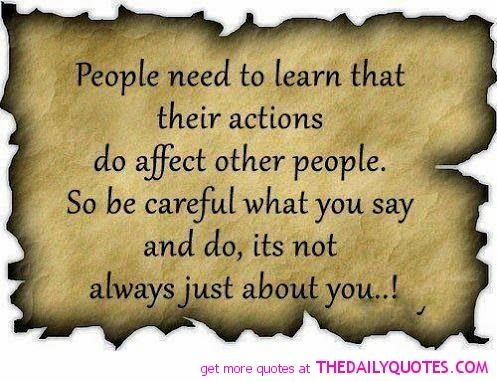 Insensitive Quotes and Sayings | People need to learn that