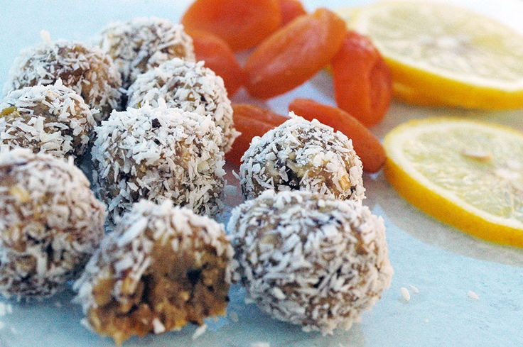 Raw food bollar med aprikos, citron & ingefära!