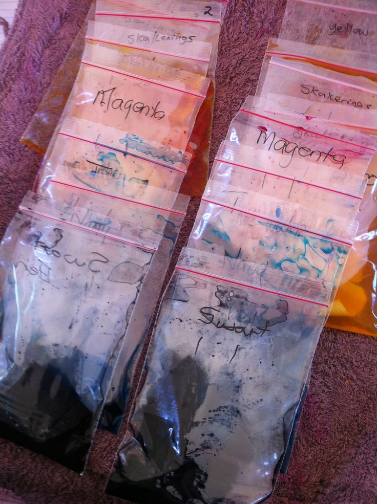#dyeandprints Colour Technicians Course - Learn how to mix your own colour chart for dyeing fabrics. http://www.facebook.com