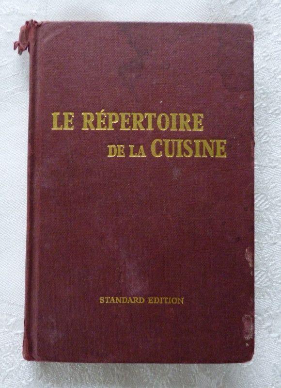 87 best cookbooks images on pinterest vintage cookbooks for Le repertoire de la cuisine