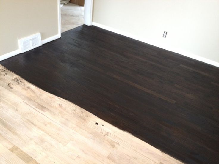 Ebony stain on red oak google search color schemes for 0 floor