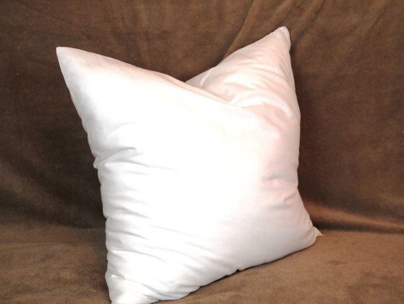 synthetic faux down pillow form insert for craft throw pillow shams