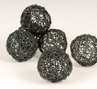 Silver Decorative Balls 33 Best Decorative Balls Images On Pinterest  Balls Balloons And