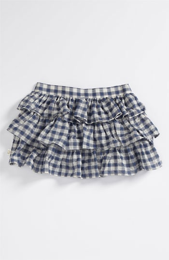 like ruffled skirts a lot. this fabric is cute